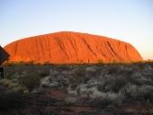 La montagne rouge d'Australie