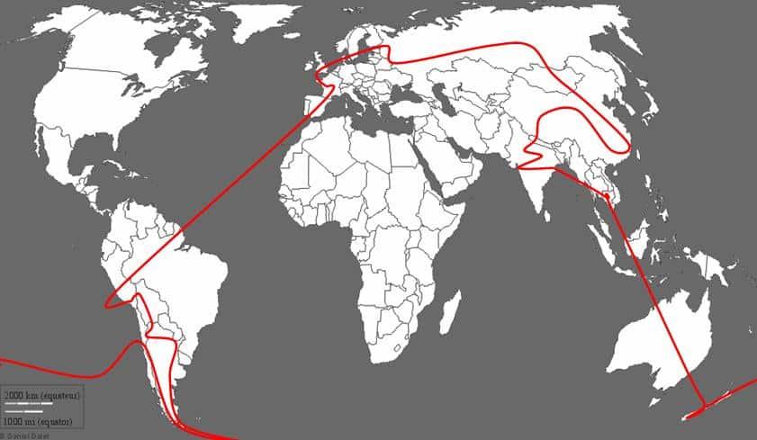 Trajet tour du monde, carnet de voyage, Lubanoo